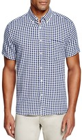 Saturdays Nyc Esquina Gingham Regular Fit Button Down Shirt