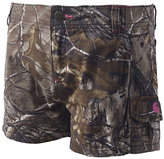 Carhartt Green Realtree Xtra® Camo Shorts - Girls