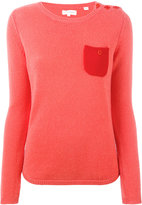 Chinti and Parker cashmere one pocket sweater