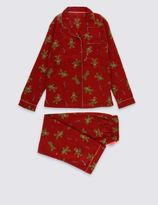 Marks and Spencer Bailed Gingerbread Pyjamas (1-16 Years)