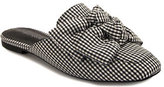 Jeffrey Campbell Ravis Bow - Gingham Mule