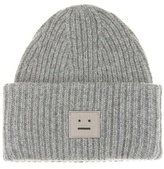 Acne Studios Pansy Wool Knitted Hat