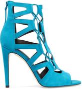 Rebecca Minkoff Roxie cutout suede sandals