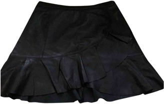 Tanya Taylor Black Exotic leathers Skirt for Women