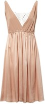 Miu Miu Beige Silk Dress for Women