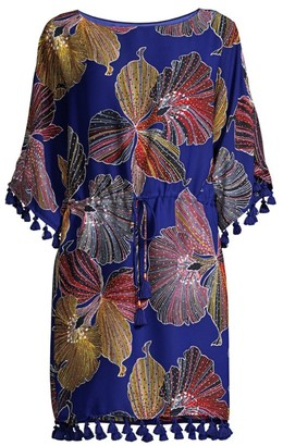 Trina Turk Spring Tassel Dress