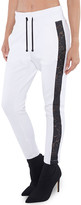 Koral Zone Scuba Sweatpants w/ Lace Side Panels