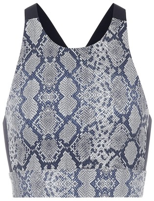 Varley Sherman printed sports bra