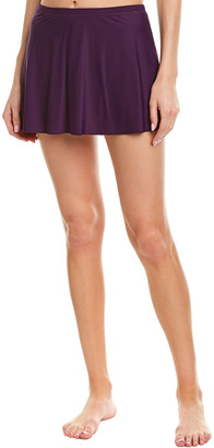 Miraclesuit 17 Solid Skirted Swim Bottom