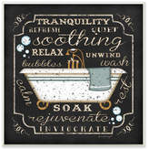 Andover Mills 'Tranquility Tub' Textual Art On Wood