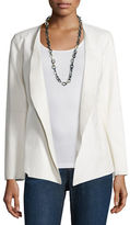 Eileen Fisher Fisher Project Draped Leather Jacket