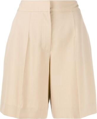 Victoria Victoria Beckham tailored knee-length shorts
