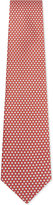 Salvatore Ferragamo Coffee cup silk tie
