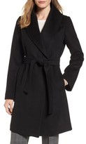 Tahari Women's Gabrielle Wool Blend Long Wrap Coat