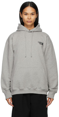Vetements Grey Limited Edition Logo Hoodie