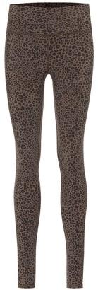 Alo Yoga Vapor leopard-print high-rise leggings