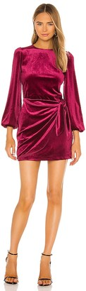 Yumi Kim Velvet Tie Me Over Dress