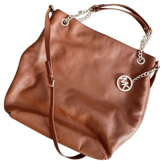 Michael Kors Brown Leather Travel bags