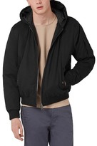 Topman Hooded Bomber Jacket