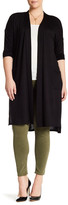 Bobeau 2 Pocket Duster Cardigan (Plus Size)