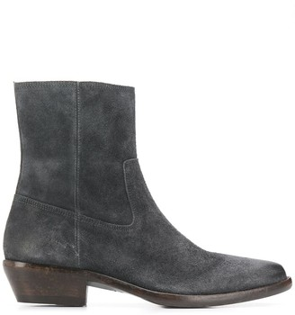 Isabel Marant pointed toe ankle boots