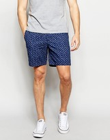 Abercrombie & Fitch Short In Prep Fit With Print