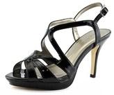 Tahari Balthasar Open Toe Synthetic Platform Sandal.