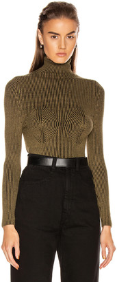 Mara Hoffman Mida Sweater in Black & Olive | FWRD