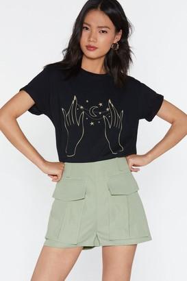Nasty Gal Womens Pocket Utility Shorts - black - 14