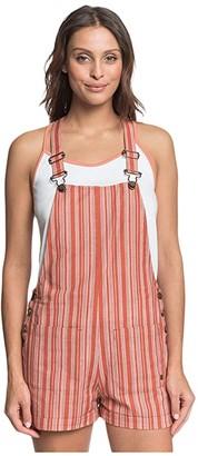 Roxy Real Life Love (Bruschetta Beta Stripe) Women's Dress