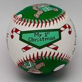 Child to Cherish Unforgettaballs by Emily Wolfson Child Baby's First My 1st Christmas Baseball by