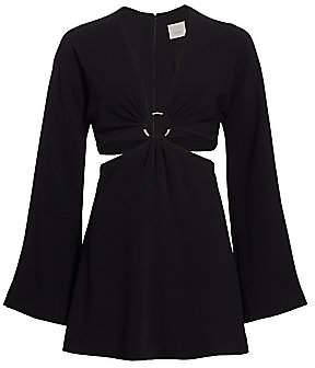 Cinq à Sept Women's Sola Ring Cutout Dress - Size 0