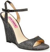Betsey Johnson Duane Wedge Sandals