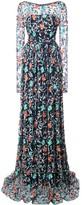 Zac Posen Venice spread gown