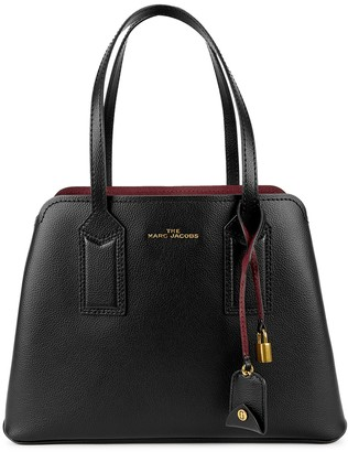 Marc Jacobs The Editor 38 black leather tote
