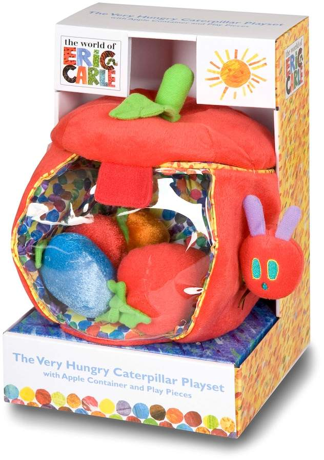 Kids Preferred The World Of Eric Carle Caterpillar Apple Play Set by
