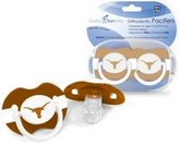 Baby Fanatic Texas Longhorns Pacifier - 2 Pack