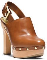 Michael Kors Beatrice Leather Sling-Back Clog