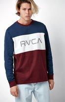 RVCA Heavy Hitter Colorblock Long Sleeve T-Shirt