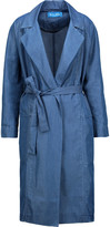 MiH Jeans Carmel cotton-blend chambray trench coat
