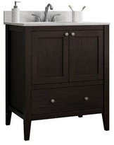 """CNC Costume National Cabinetry Vanguard 30"""" Bathroom Vanity Base Cabinetry"""