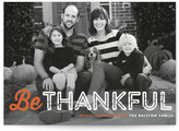 Minted Just Be Thanksgiving Cards