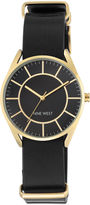 Nine West Glehne Black Strap Watch