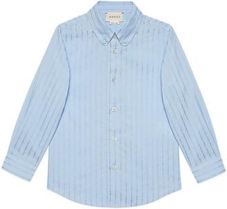 Gucci Children's cotton fil coupe shirt