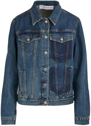 J.W.Anderson Shaded pockets denim jacket