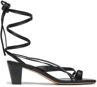 Maje Leather Sandals