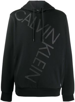 Calvin Klein Logo Print Hoodie
