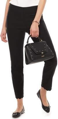 Elle Women's Scallop-Hem Ankle Pants