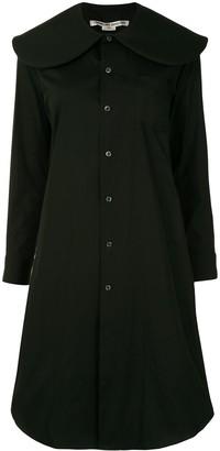 Comme des Garcons Oversized Collar Shirt Dress
