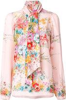 No.21 pussy-bow fastening shirt - women - Silk - 40